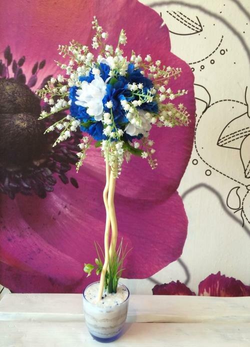 Цветы для топиария купить оптом купить искуственные вьющиеся цветы