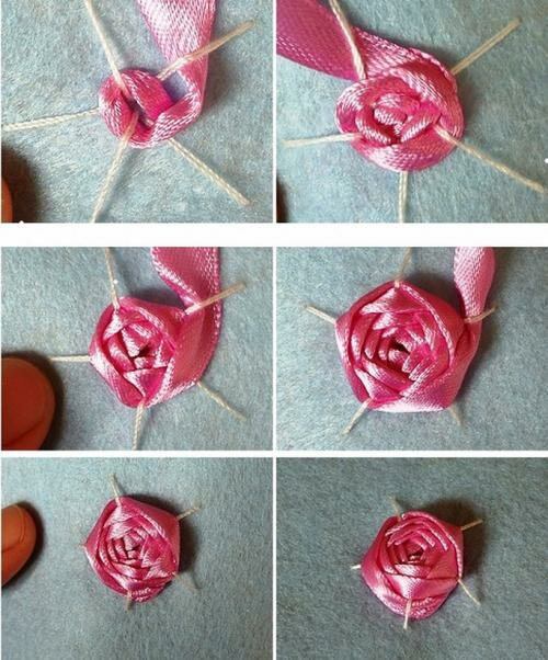 Вышивка розы для начинающих пошагово 294