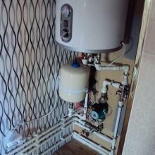 Установка водонагревателей, бойлеров, теплообменников