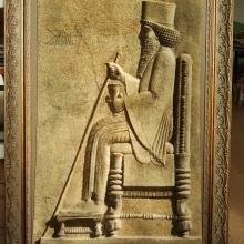 персидский ковер ручной работы